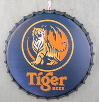 Embossed metal wall arts wholesale tin sign for bar party decoration