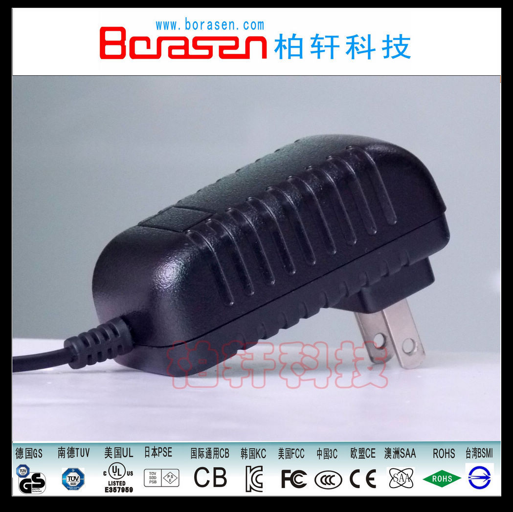 Power Adapter for Keyboard with CE CB KC FCC UL SAA GS PES Certificate