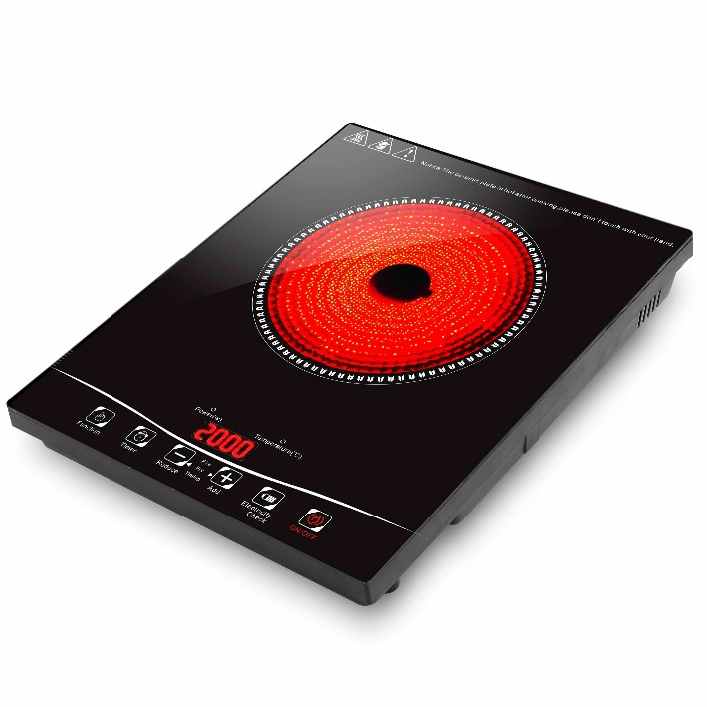 Electric Ceramic Cooker hot plate 2000W high light cooker