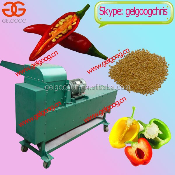 Automatic Chilli Seed Removing Machine/ Pepper Seed Remover Price