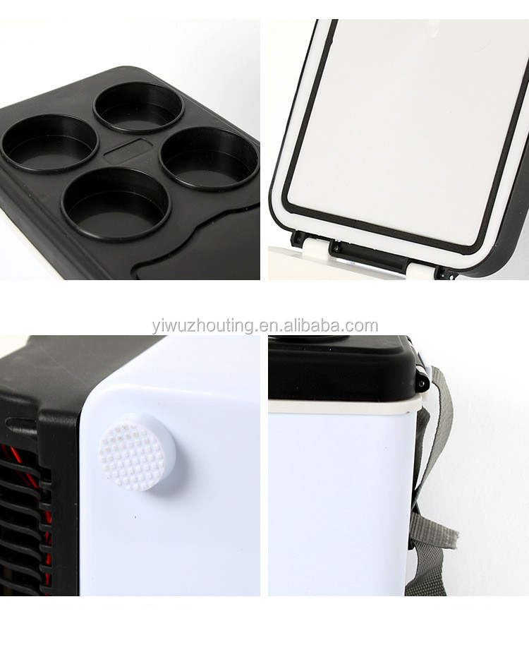 Hot sale Car Auto 48W Portable Multi-Function Cooling and Warming Low Noise Refrigerator for Car and Home