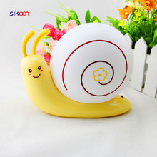 Hot Selling Snail Shape Battery Powered 3D Wall LED Baby Night light For Home Decoration From China Supplier