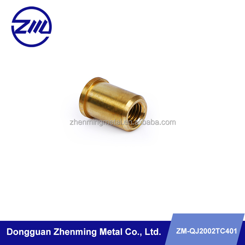 Mechanical Parts & Fabrication Services brass material lathe parts