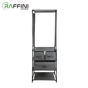 Beautiful Design Single Box Iron+PPNW Folding Wardrobe