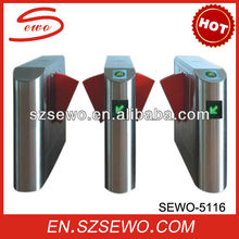 LED Direction Red Flap Barrier Gate with Door Access Control Board