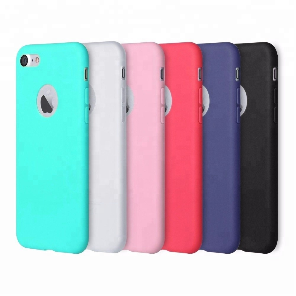 Wholesale Silicone <strong>Phone</strong> Accessories Ultra Slim Soft Case for Apple iPhone 8 7