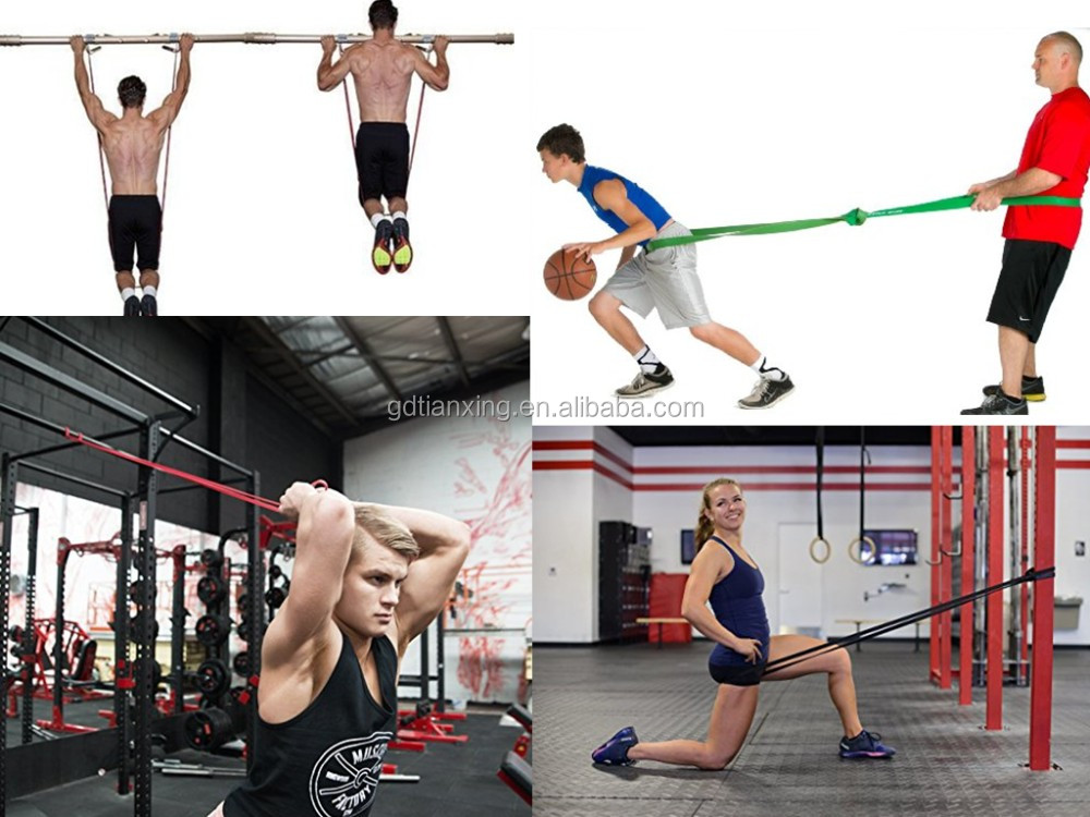 208cm Heavy Crossfit Fitness Latex Power Lifting Resistance Ballet Band