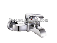 Waterfall Brass Chrome Bathtub Faucet garden tap column