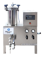 China manufacturer wax water injection semi-automatic ointment liquid filling machine