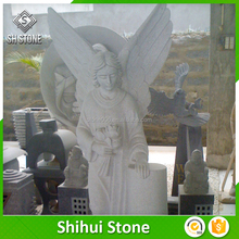 Wholesale Big Production Ability Cheap Granite Angel Gravestone Grave Monument Slab Tombstone