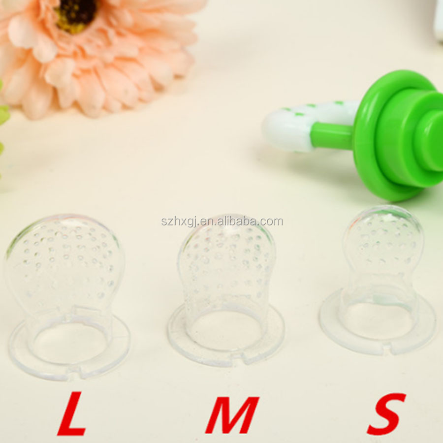 Silicone Baby Food Pacifier Nipple,Baby Fresh Fruit Feeder