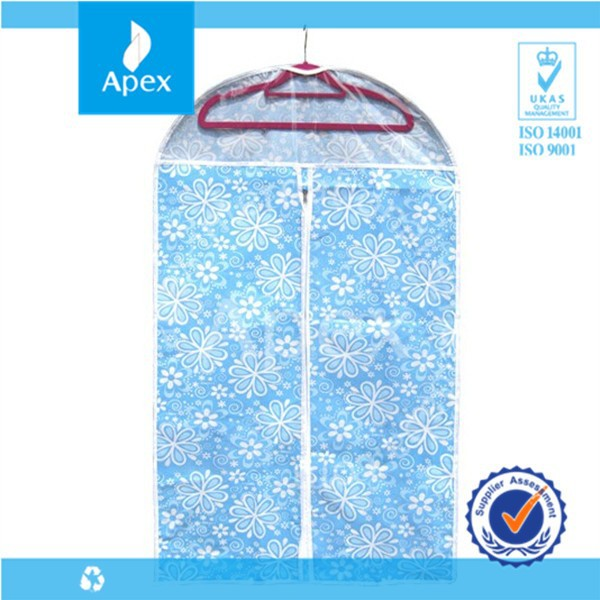 Custom made personalished non-woven travel garment bag