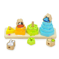 Hot Sale Wooden Building Blocks Toy