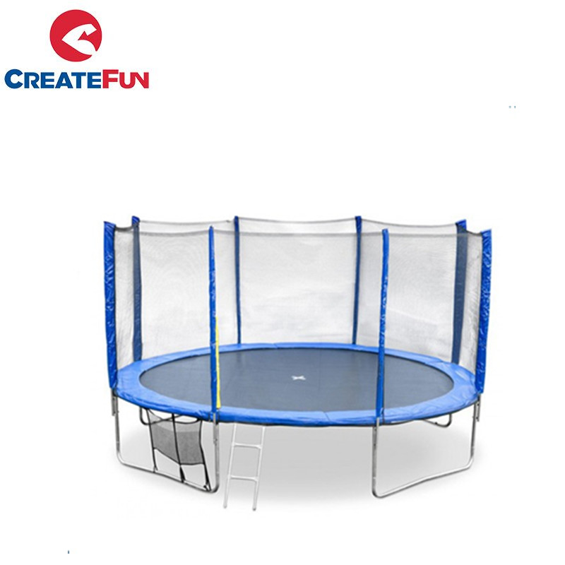 CreateFun round indoor trampoline jumping bed for kids