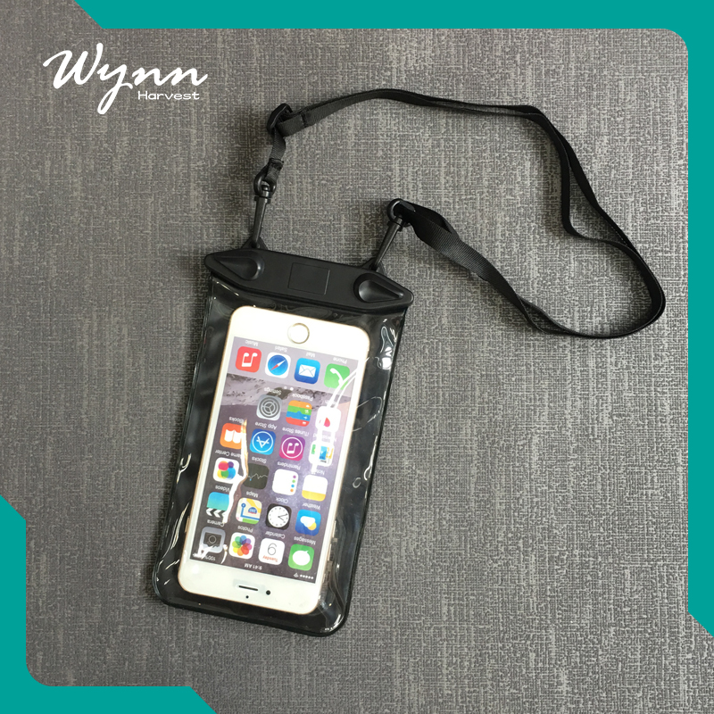 Beautiful appearance waterproof mobile phone 6 case that can go underwater