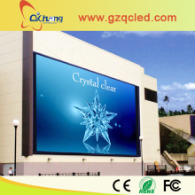 P10 outdoor full color video LED display for promotion