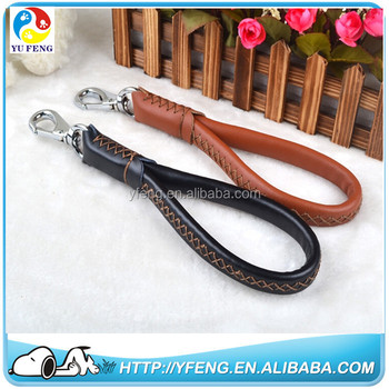 Real Cow leather pet collar dog leather alloy buckle boxer dog leather collars