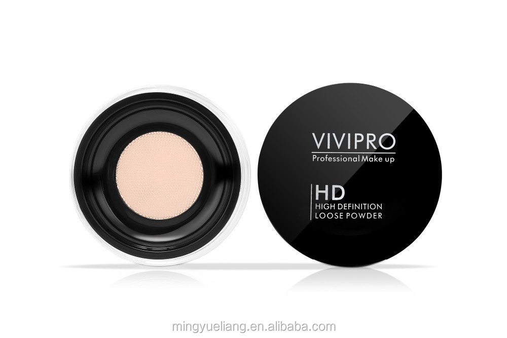 Professional Minerals Face Powder Makeup Glitter Loose Powder OEM cosmetics foundation