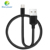 Mobile Accessories 1M Metal Cotton Braided USB Data Cable for iphone Phone Charging USB 3.1 Type C Cable