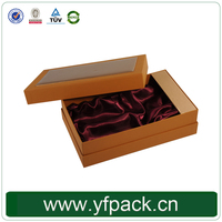 Luxury Design Leather Paper Cover Cardboard Materials Wine Glass Gift Box