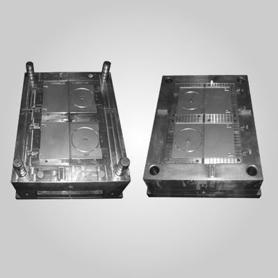 OEM factory plastic injection cd dvd case moulds
