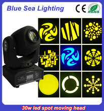 30w led spot color led lighting wholesale band lights stage