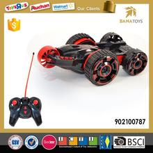 Radio control stunt power wheels toy car