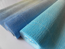 2015 China 100 crepe paper,double sided crepe paper,gradient crepe paper