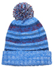 knitted beanie with top ball