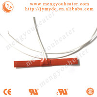 Thin Film Flexible Silicone Rubber Heater for Hoppers