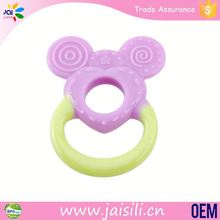 china wholesale BPA free non-toxic natural rubber teether toys