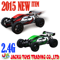 2.4g PVC High Speed RC Racing Car 4 CH / 2 Color