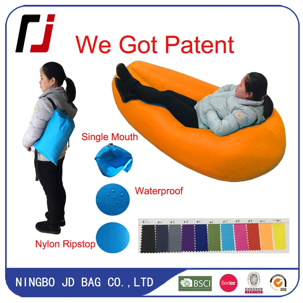 3-4 Season Nylon Air Filled Chair JD Inflatable, Popular Lightweight Ultimate Inflatable Ripstop Fabric JD Inflatable