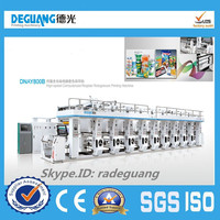 Best selling plastic card multi-color printing machine, prices of printing machines