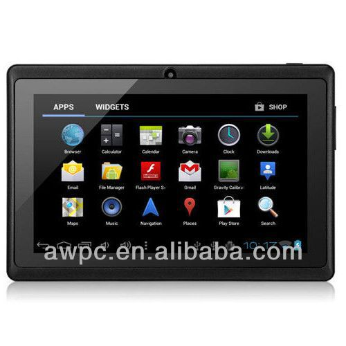 cheap tablet 7inch wholesale 512MB 4GB Android 4.1
