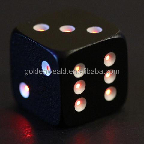 Love/Sexy/Sex/Adult Dice colorful LED CNC aluminium alloy dice