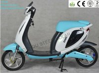 SUNRA 350W XR-EM38 (Lithium with pedal) Electric motorcycle with battery Drum brake