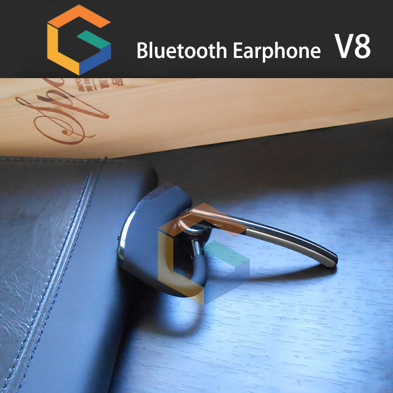 best selling new arrival Waterproof V8 in ear wireless Sport Bluetooth stereo headset Headphone for iphone and samsung
