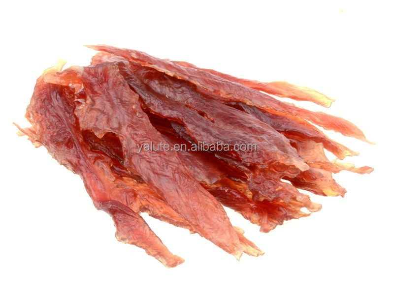 wholesale OEM private label soft duck breast jerky dog pet treats