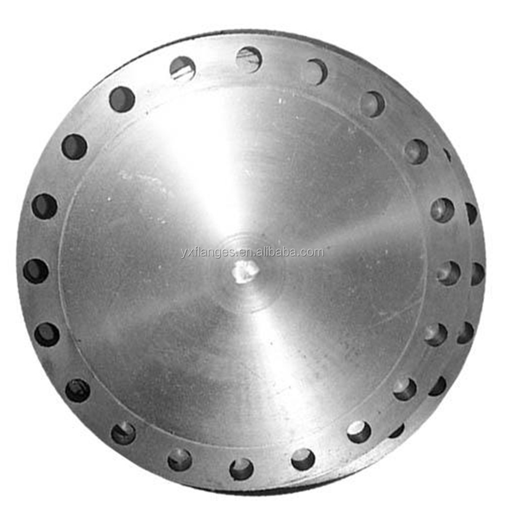ASME B16.47 SERIES A (MSS SP44) forged welding neck blind steel flange
