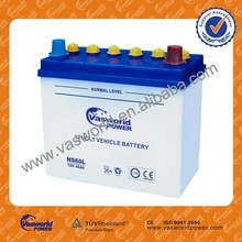 12V45AH Long Life Japan Standard Dry Charged 12V Automobile Battery 55B24L NS60L Car Starting Battery