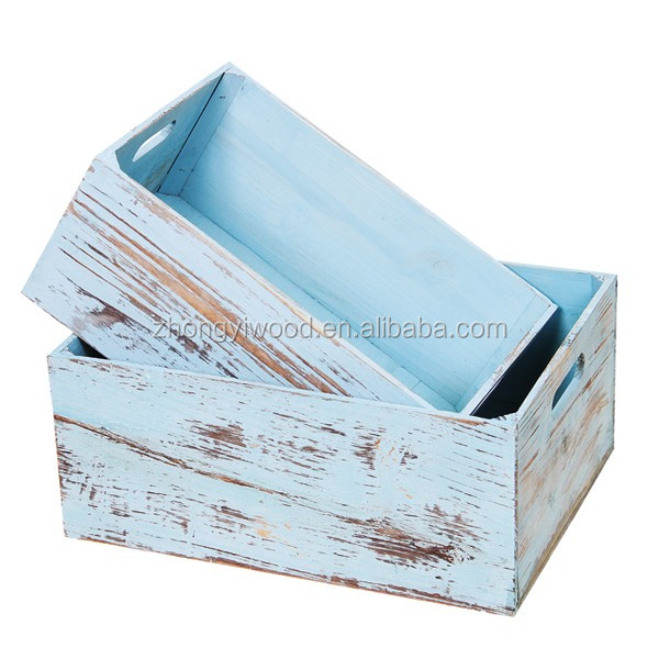 hot selling product used cheap small wooden vegetable wine crates