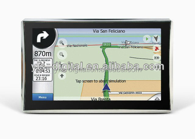 Hot Sell SiRF Atlas V 7 inch Car GPS