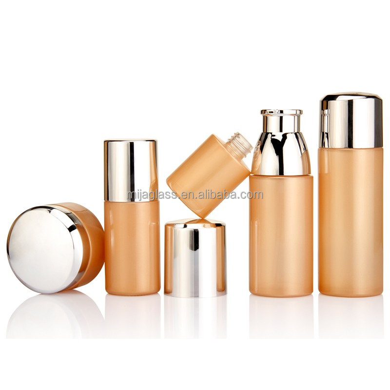 Hot Selling Acrylic osmetic Packaging Set With 15ml 30ml With popular Dropper/ Mist <strong>Spray</strong> For Skin Care Cream