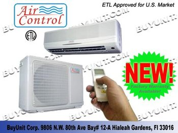 1.0 Ton (12,000 Btu) Cooling Mini-split Heat Pump System