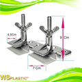 Cast steel hinge clamps
