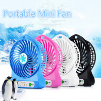 Colorful Portable Ventilation Fan , Fashion Rechargeable Mini Usb Fan , Young People 's Favorite Portable Electric Fan