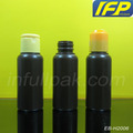 100ml Brown Boston Round Plastic Bottle