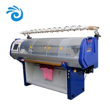 Low loss 5G 52inch sweater computerized flat jacquard sweater knitting machine price