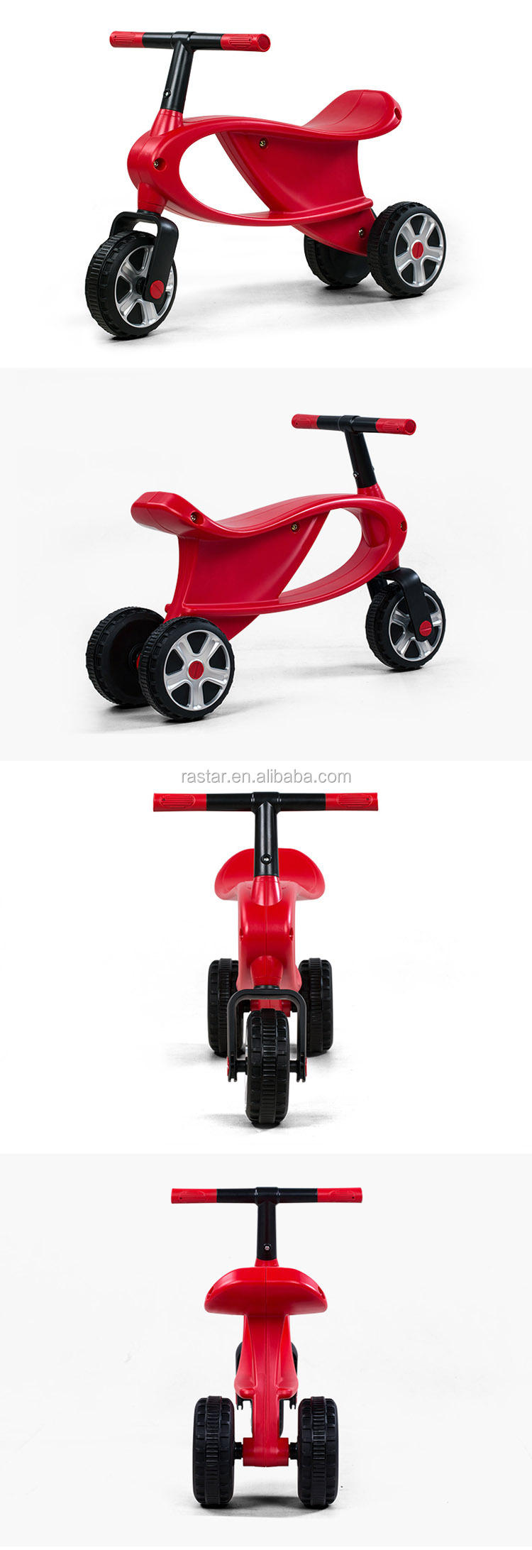 Rastar kids toys baby toy 3 wheel car bike